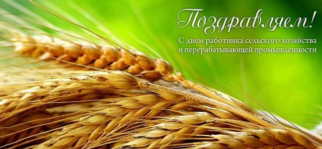 Поздравление труженикам сельского хозяйства 87